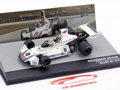 Carlos Pace Brabham BT44B #8 Gagnant GP Brésil Formule 1 1975 1:43 Altaya