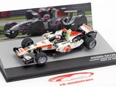 Rubens Barrichello Honda RA106 #11 Italië GP formule 1 2006 1:43 Altaya