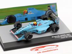Mauricio Gugelmin March Judd 881 #15 Italië GP Formule 1 1988 1:43 Altaya