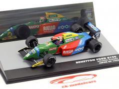 Nelson Piquet Benetton Ford B190 #20 gagnant Japon GP formule 1 1990 1:43 Altaya