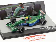 Roberto Moreno Jordan Ford 191 #32 Itália GP fórmula 1 1991 1:43 Altaya