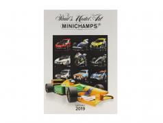 Minichamps catálogo edição 1 2019