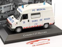 Citroen C25 Heuliez ambulância ano de construção 1984 branco 1:43 Atlas