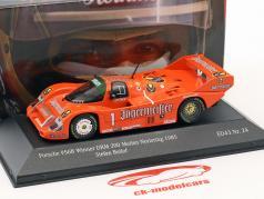 Porsche 956B Brun #1 winnaar DRM 200 mijlen Norisring 1985 Stefan Bellof 1:43 CMR