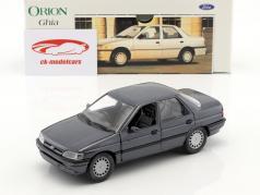 Ford Orion Ghia RHD grijs metalen 1:24 Schabak