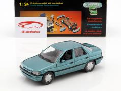 Ford Orion LHD verde azul metálico 1:24 Schabak