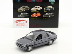 Ford Orion RHD azul gris metálico 1:24 Schabak