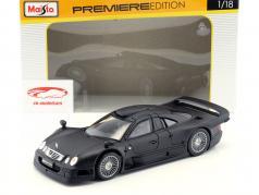 Mercedes-Benz CLK-GTR mat black 1:18 Maisto