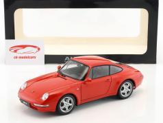 Porsche 911 (993) Carrera Year 1995 red 1:18 AUTOart