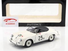 Porsche 356 Speedster #23F blanc 1:18 AUTOart