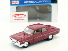 Ford Fairlane Thunderbolt year 1964 dark red 1:24 Maisto