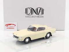 Volvo 1800 construit en 1961 blanc crème 1:18 DNA Collectibles