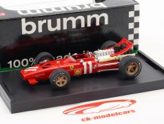 Chris Amon Ferrari 312 F1 #11 MonteCarlo GP formula 1 1969 1:43 Brumm