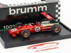 Chris Amon Ferrari 312 F1 #15 Espagne GP formule 1 1969 1:43 Brumm