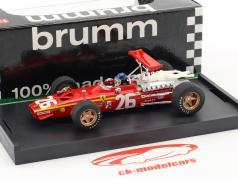 Jacky Ickx Ferrari 312 F1 #26 ganador Francia GP fórmula 1 1968 con conductor figura 1:43 Brumm