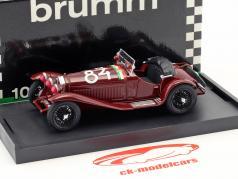Alfa Romeo 6C 1750 GS #84 vencedor Mille Miglia 1930 Nuvolari, Guidotti 1:43 Brumm
