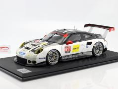 Porsche 911 (991) RSR #911 year 2016 gray / white / black 1:8 Amalgam