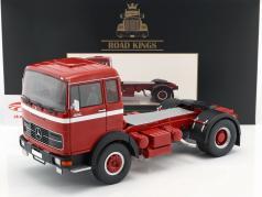Mercedes-Benz LPS 1632 tractor año de construcción 1969 rojo / blanco 1:18 Road Kings