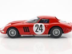 Ferrari 250 GTO #24 5 ° 24h LeMans 1964 Bianchi, Blaton 1:18 CMR