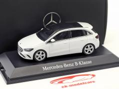 Mercedes-Benz B-Class (W247) year 2018 polar white 1:43 Herpa