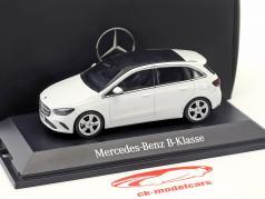 Mercedes-Benz B-Klasse (W247) Bouwjaar 2018 polair wit 1:43 Herpa