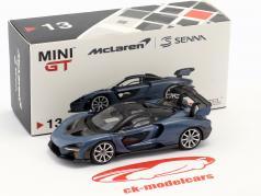 McLaren Senna LHD victory cinza 1:64 TrueScale