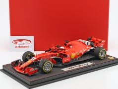Sebastian Vettel Ferrari SF71H #5 Winner Australian GP formula 1 2018 With Showcase 1:18 BBR