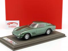 Ferrari 275 GTB S/N 06437 Personal Car Battista Pininfarina year 1964 green metallic 1:18 BBR