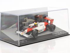 Ayrton Senna McLaren MP4/4 #12 胜利者 San Marino GP 公式 1 1988 1:43 Altaya