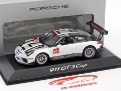 Porsche 911 (991) GT3 Cup 2017 Carrera Cup Promo Car 1:43 Spark