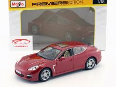 Porsche Panamera Turbo red 1:18 Maisto
