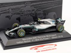 Valtteri Bottas Mercedes-AMG F1 W09 EQ Power  #77 Formel 1 2018 1:43 ミニチャンプス