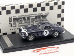 Ferrari 250 GT Passo Corto #7 Vincitore RAC Tourist Trophy 1960 Stirling Moss 1:43 Matrix