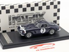 Ferrari 250 GT Passo Corto #7 Winner RAC Tourist Trophy 1960 Stirling Moss 1:43 Matrix