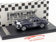 Ferrari 250 GT Passo Corto #5 gagnant Nassau Tourist Trophy 1960 Stirling Moss 1:43 Matrix