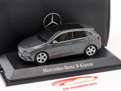 Mercedes-Benz B-Class (W247) year 2018 mountain grey 1:43 Herpa
