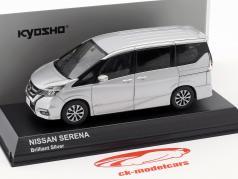 Nissan Serena C27 Bouwjaar 2016 briljant zilver 1:43 Kyosho