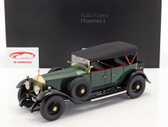 Rolls Royce Phantom I converteerbaar Bouwjaar 1926 groen 1:18 Kyosho