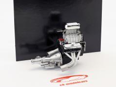 Gasser Dragster Kleine blok motor met transmissie 1:18 GMP