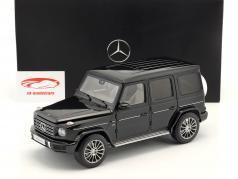 Mercedes-Benz G-classe (W463) ano de construção 2018 esmeralda verde 1:18 Minichamps