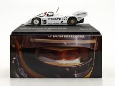 Porsche 956K Brun #19 5th 1000km Brands Hatch 1984 Bellof, Grohs 1:43 CMR