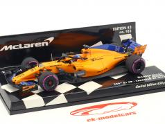 F. Alonso McLaren MCL33 #14 300th F1 GP Kanada Formel 1 2018 1:43 Minichamps