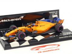 F. Alonso McLaren MCL33 #14 número 300 F1 GP Canadá fórmula 1 2018 1:43 Minichamps