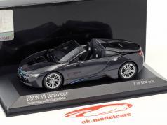 BMW I8 Roadster (I15) ano de construção 2018 cinza metálico 1:43 Minichamps