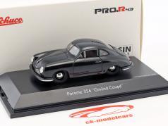 Porsche 356 Gmünd Coupe negro 1:43 Schuco