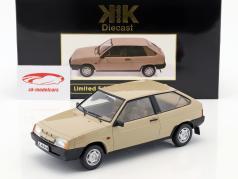 Lada Samara Opførselsår 1984 tan 1:18 KK-Scale