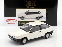 Lada Samara Opførselsår 1984 hvid 1:18 KK-Scale