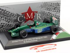 Michael Schumacher Jordan Ford 191 #32 F1 estréia Bélgica GP fórmula 1 1991 1:43 CMR