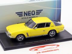 Jensen Interceptor SIII Bouwjaar 1972 geel 1:43 Neo