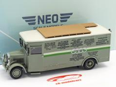 NAG Büssing course camion Auto Union vert / blanc 1:43 Neo